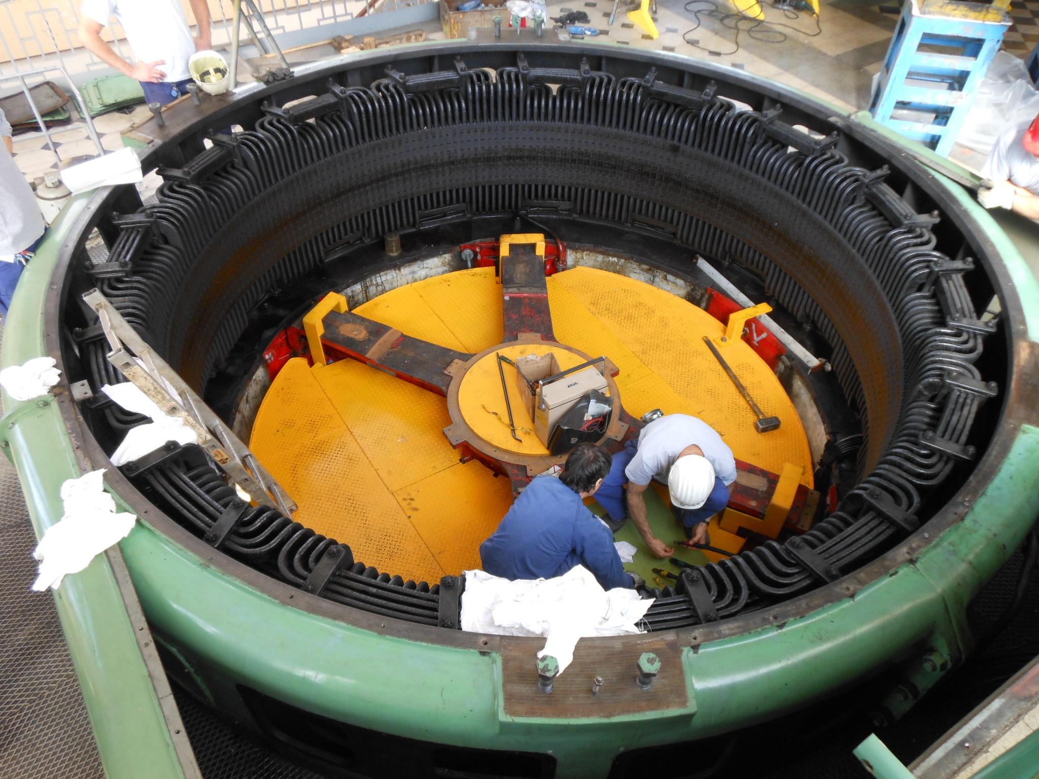 3 revisione generatore di corrente fiume livenza